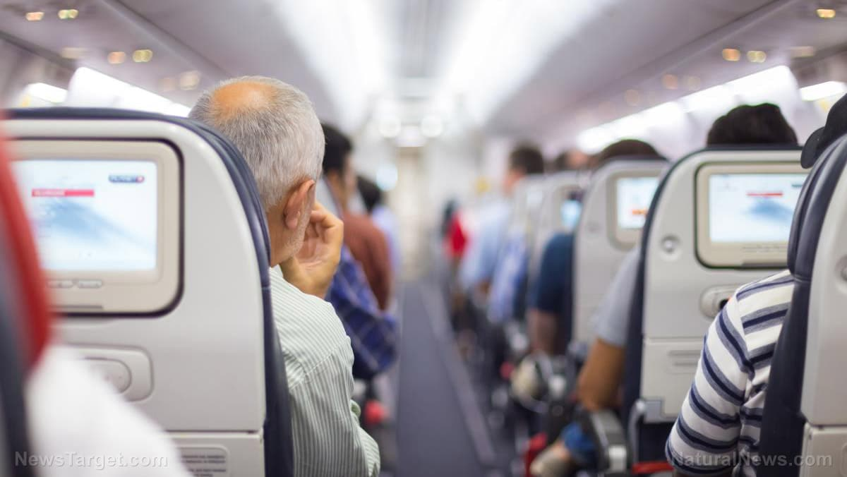 Cameras Installed in Airline Seats Are Now Surreptitiously Record You During Every Flight, Then Store the Video Files Indefinitely 1