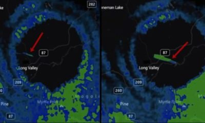 Fast Moving Anomaly Enters 'Vortex/Portal' Which Appeared In The Sky Over During Storm 86