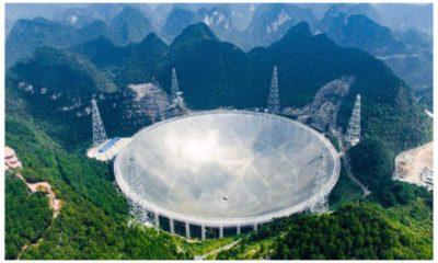Mysterious Radio Burst Picked up by China's Radio Telescope 91
