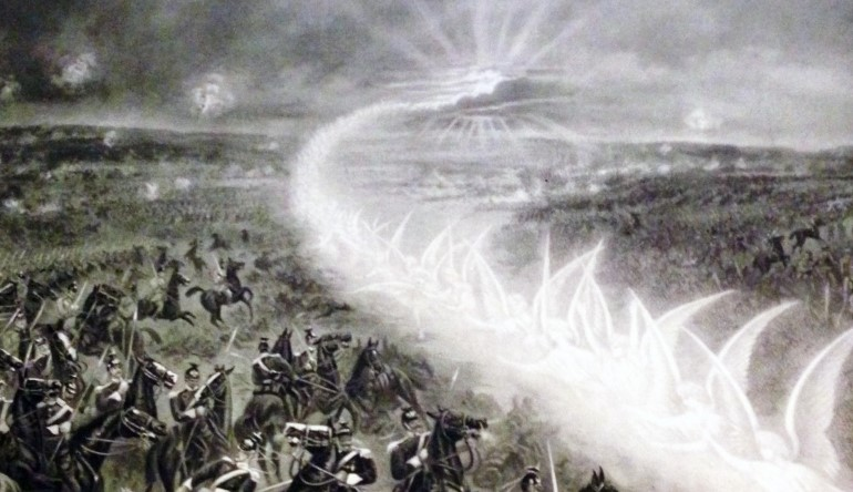 Angels in Battle: When God's Creatures Appears On Battlefields 1