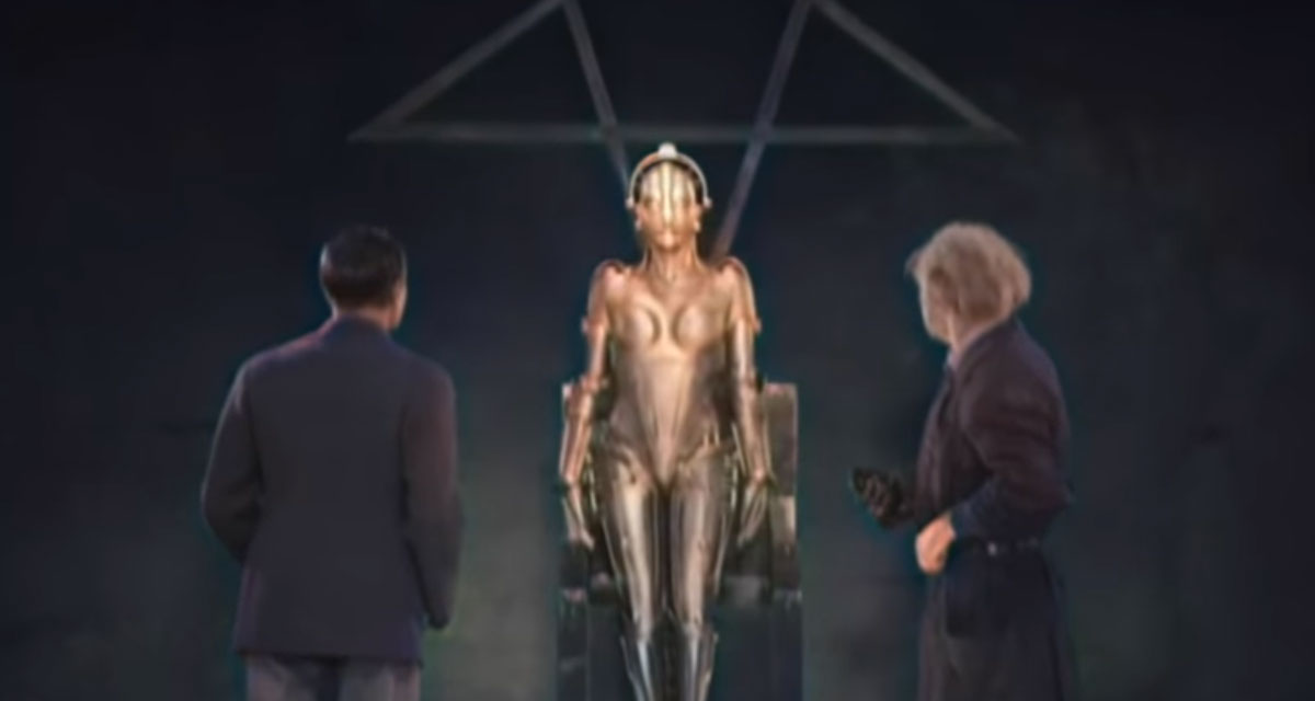 Fans Update Sci-Fi Classic Metropolis with New Color and Sound 86