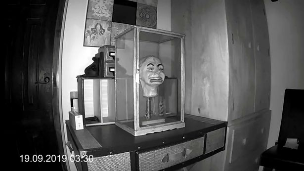 Haunting moment Second World War ventriloquist doll 'blinks and moves its mouth' 102
