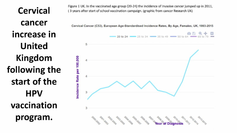 Gardasil Vaccine Found To Increase Cervical Cancer Risk By 44.6% In Women Already Exposed To HPV 24