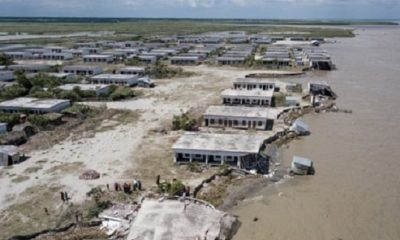 Millions of people are left homeless because of rising sea levels 92