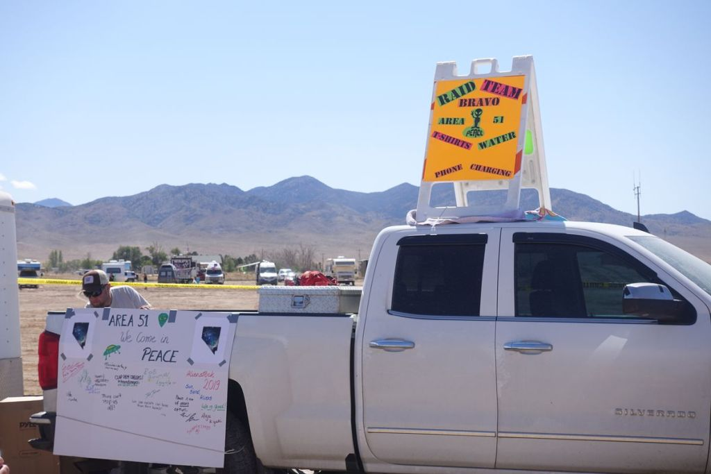 """Storm Area 51"" weekend had neither raids nor aliens. But it wasn't a bust. 19"