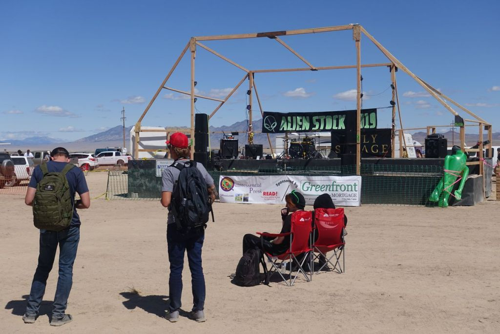 """Storm Area 51"" weekend had neither raids nor aliens. But it wasn't a bust. 18"