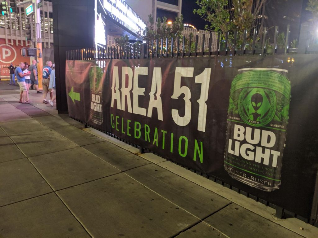 """Storm Area 51"" weekend had neither raids nor aliens. But it wasn't a bust. 15"