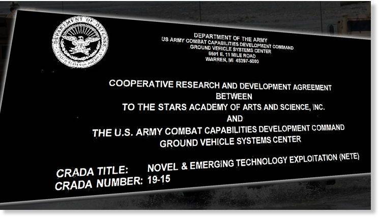 US Army announces agreement with To The Stars Academy of Arts & Science to study 'mystery materials' of unexplained origin 86