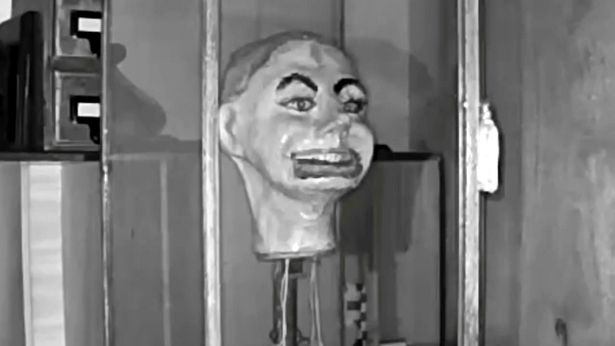 Haunting moment Second World War ventriloquist doll 'blinks and moves its mouth' 101
