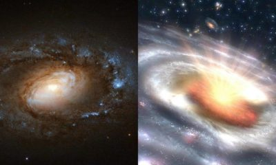 Study Reveals Six Galaxies Undergoing Sudden, Dramatic Transitions 89