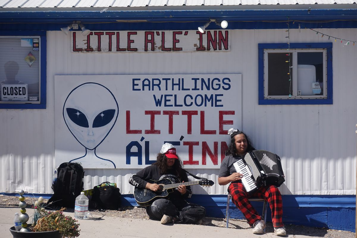 """Storm Area 51"" weekend had neither raids nor aliens. But it wasn't a bust. 13"
