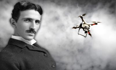 Nikola Tesla patented a Drone in 1898 97