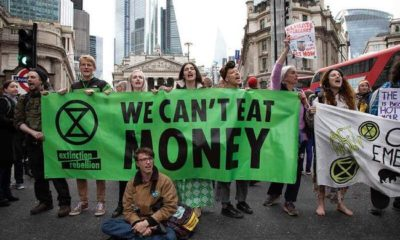 Extinction Rebellion: Climate Change Protests Aim To Crash Global Economy To Usher In MMT 110