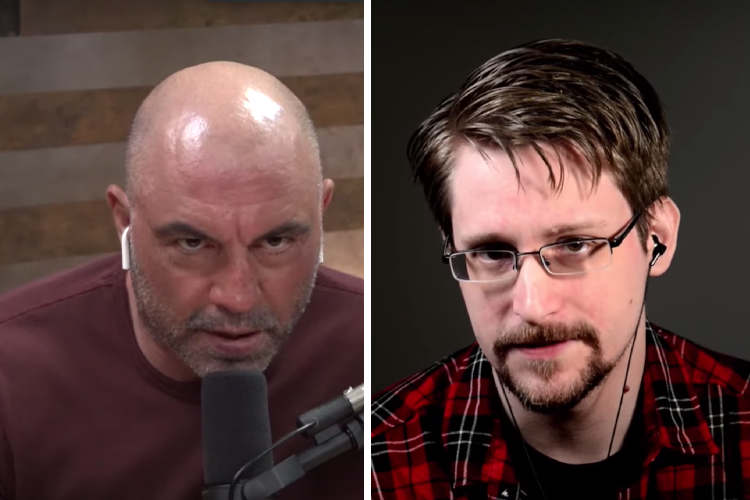 Edward Snowden on the Joe Rogan Podcast 28