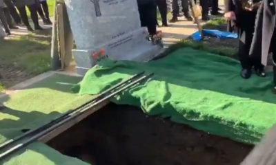 Dead Guy Pranks Mourners as He's Lowered into the Ground 87