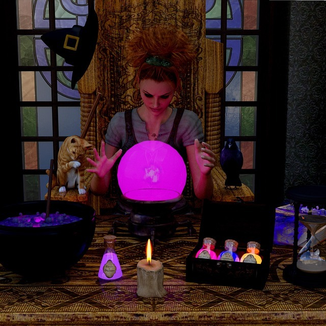 How to buy a Crystal Ball for Scrying. 7