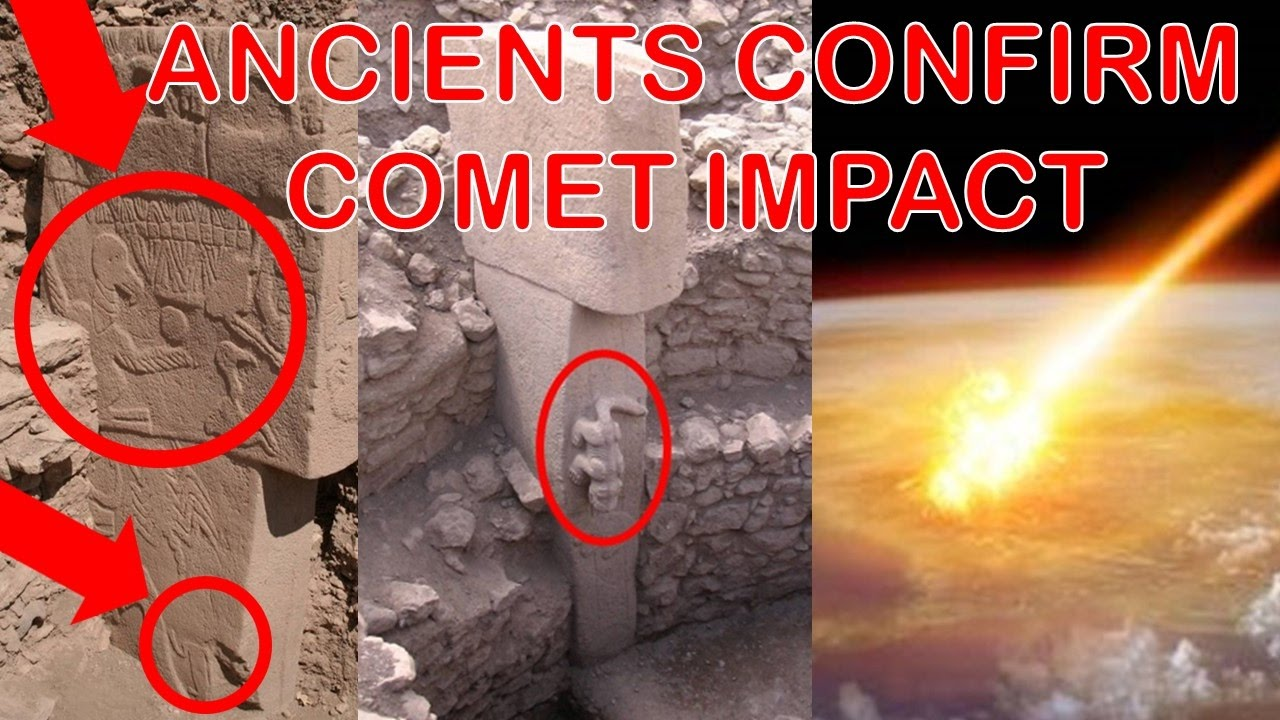 Gobekli Tepe Stone Carvings May Indicate Comet Hit Earth & Reset Ancient Civilization 1