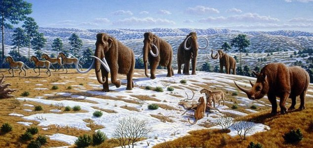 Mammoths survived until just 4,000 years ago 1