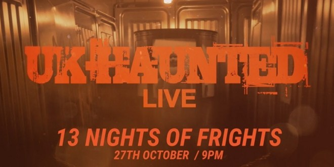 UK Haunted Live on Really TV this Sunday 5