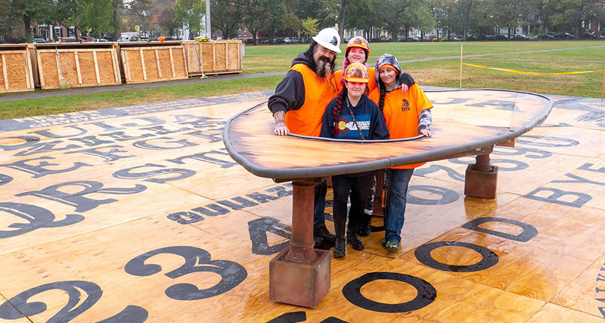 The World's Largest Ouija Board 86