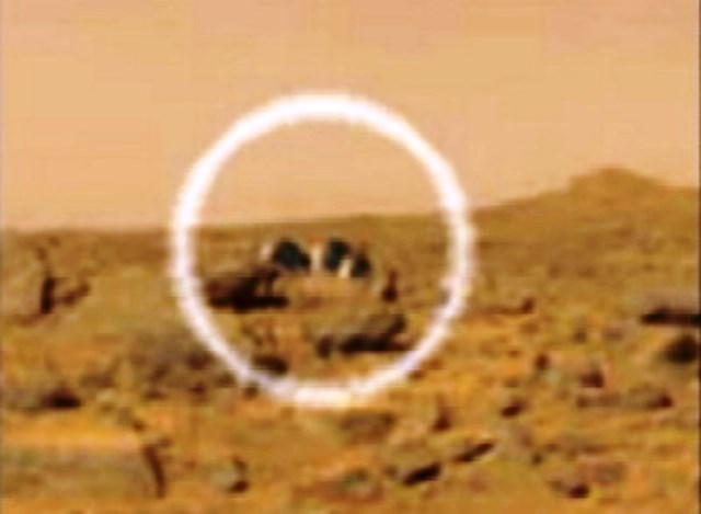 domed buildings on Mars