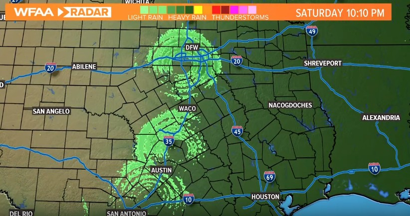 "Meteorological Radars record three ""Huge Anomalies"" in the Texas skies 9"
