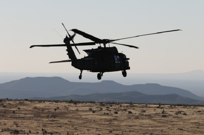 Ufologist Nick Redfern shoots famous black helicopters over his home 98