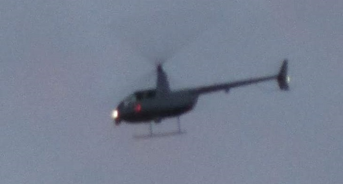 Ufologist Nick Redfern shoots famous black helicopters over his home 99