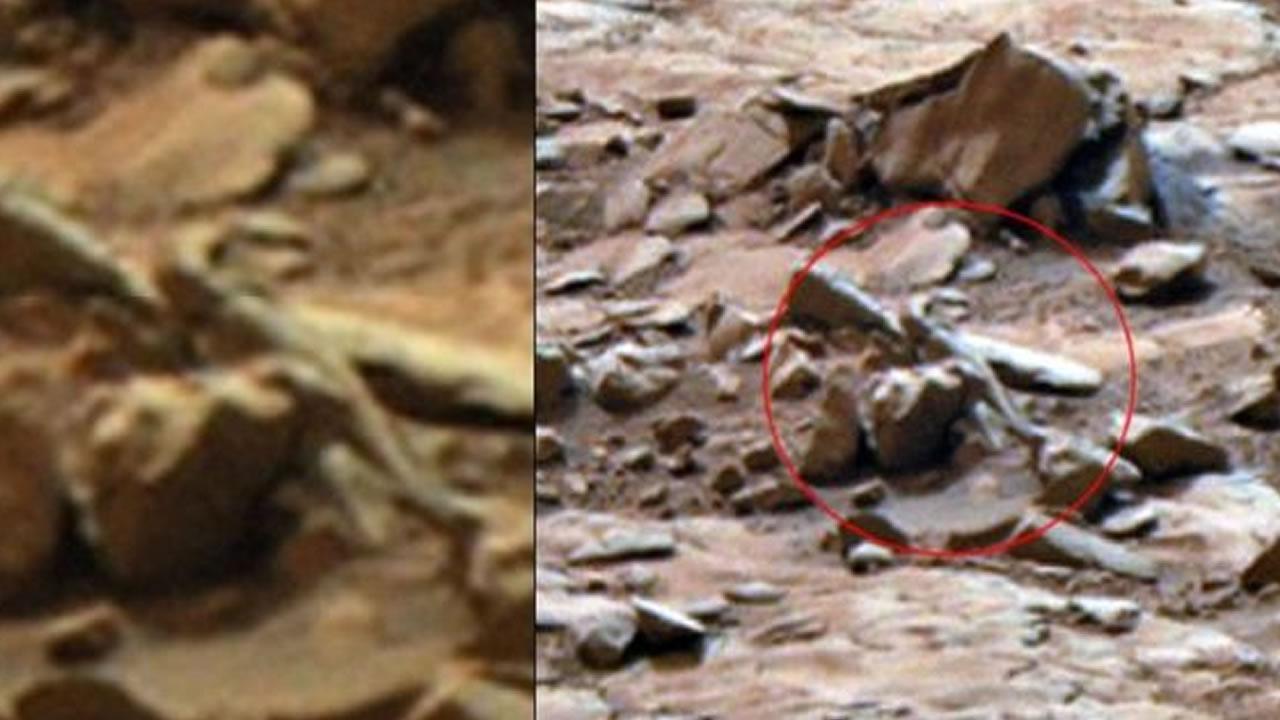 Extraterrestrial captured by NASA camera: Mars anomaly 89