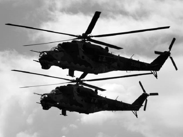 The secret of the Mysterious Black Helicopters 93