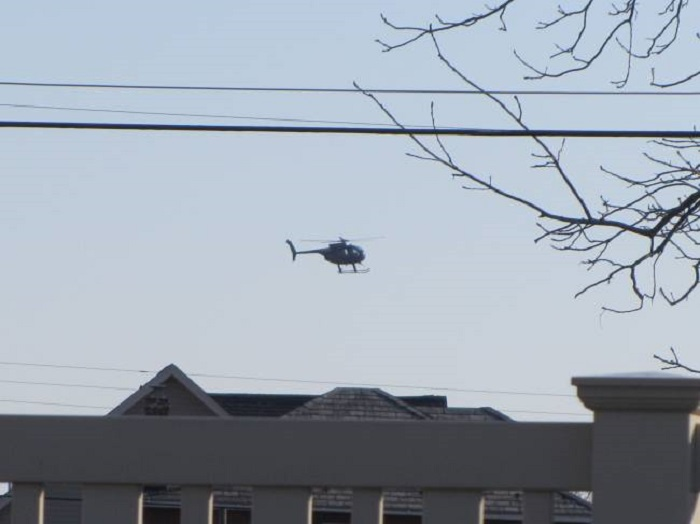 The secret of the Mysterious Black Helicopters 9