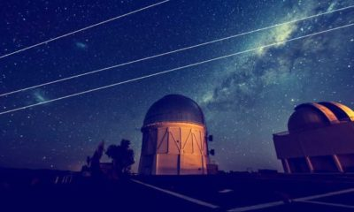 Astronomers complain that SpaceX satellites are blocking their view 95