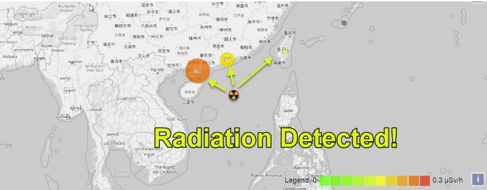 Global alert for a submarine NUCLEAR EXPLOSION occurred in the South China Sea 97
