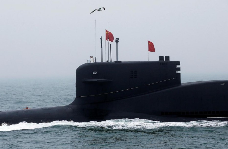 Global alert for a submarine NUCLEAR EXPLOSION occurred in the South China Sea 96