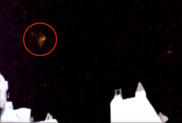 Astronauts observe several UFOs near the International Space Station 9