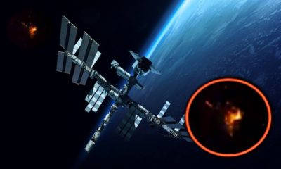 Astronauts observe several UFOs near the International Space Station 103