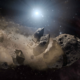 Witnessing the destruction of an asteroid 88