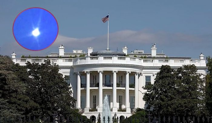 UFO flies to the White House and the Capitol. NORAD announces potential violation of airspace 92