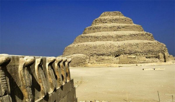 Is Djoser's pyramid the first pyramid in Egypt? 101