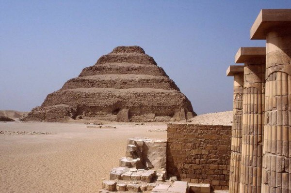 Is Djoser's pyramid the first pyramid in Egypt? 102
