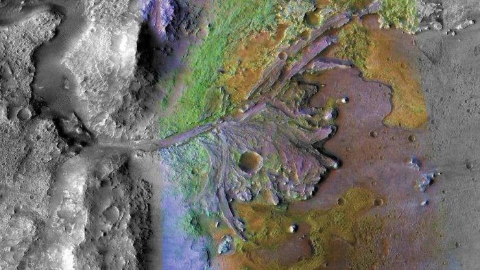 Site of NASA's Mars 2020 Mission Could Contain Fossilized Signs of Life 86