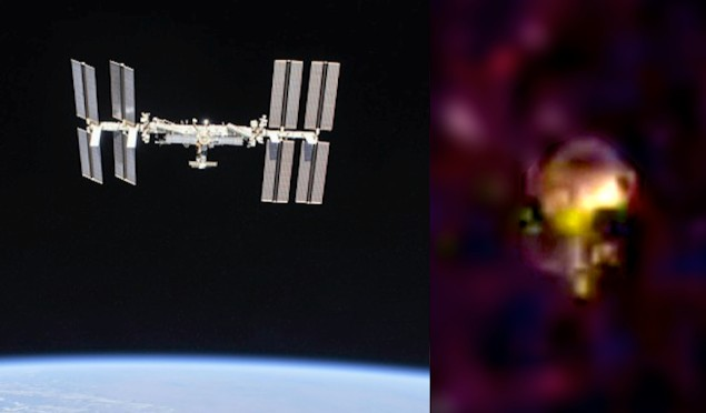 Astronauts observe several UFOs near the International Space Station 8