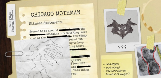 The Case Of The Chicago Mothman 86