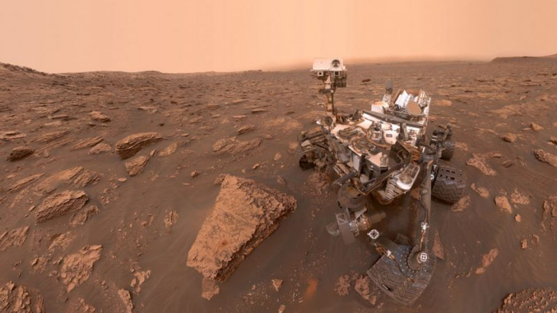 Curiosity recorded an increase in oxygen concentration on Mars 90