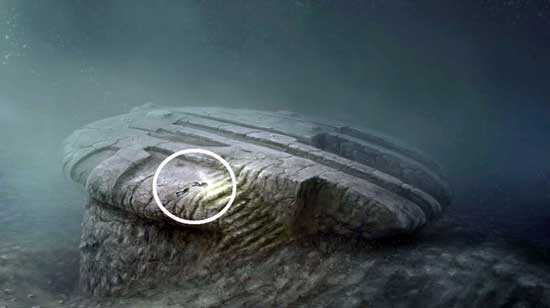 Flying saucer of the Baltic Sea, a mystery of antiquity
