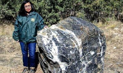 A huge stone mysteriously disappears and returns to its place 86