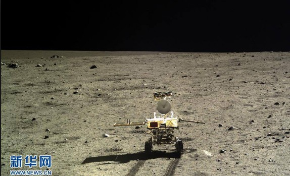 Alien structures were photographed by the Chinese Chang'e 3 Lander on Moon 12