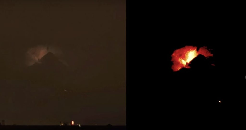 """Mysterious and huge object in the shape of a """"pyramid"""" appears in the sky above Philadelphia 95"""