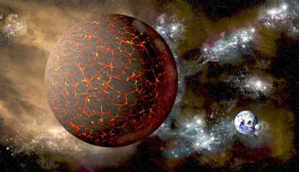 Planet Nibiru, homeland of the Anunnaki promising to return