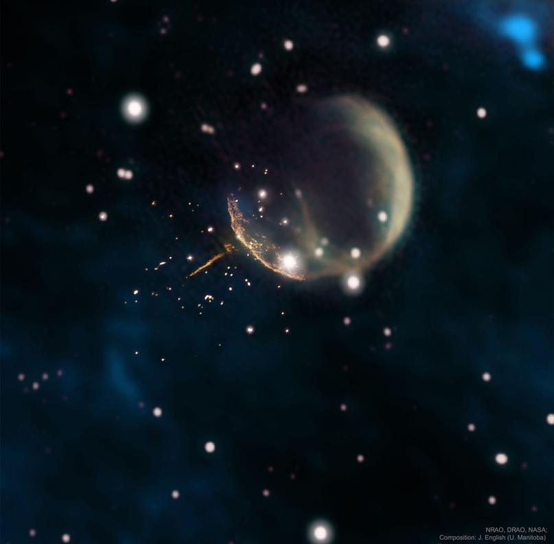 Supernova fires pulsar J0002 10